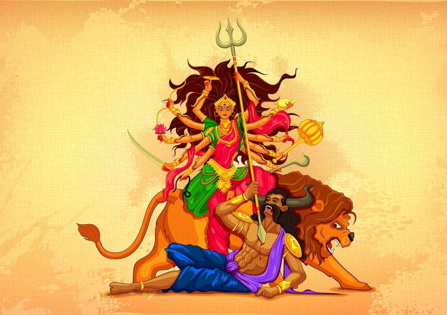 Life Lessons to learn from 9 forms of Goddess Durga